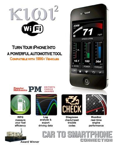PLX Kiwi 2 Wifi | OBD2 OBDII iPhone