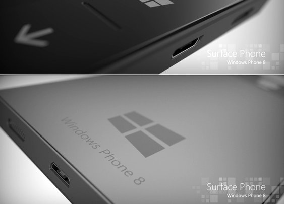 Microsoft Windows Surface Phone Concept by Phone Designer aka Jonas Dähnert | Yanko Design