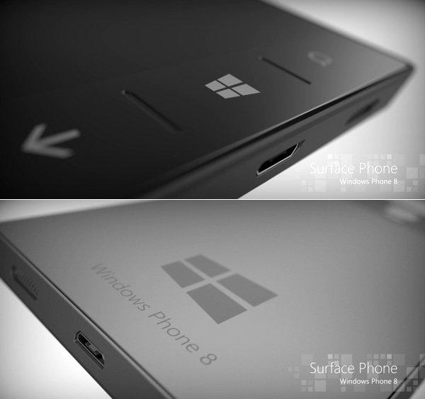 Microsoft Windows Surface Phone Concept by Phone Designer aka Jonas Dähnert   Yanko Design