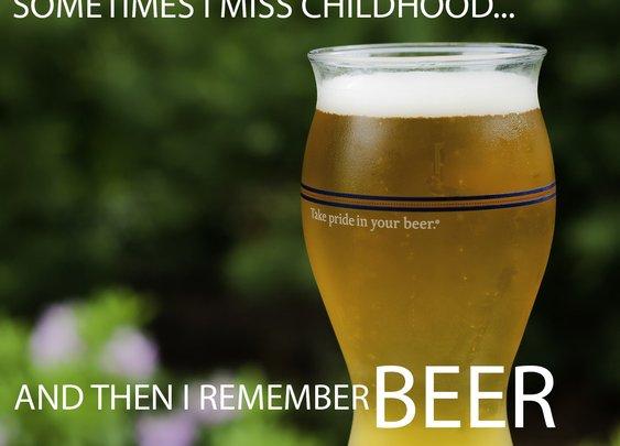 Sometimes I miss childhood....