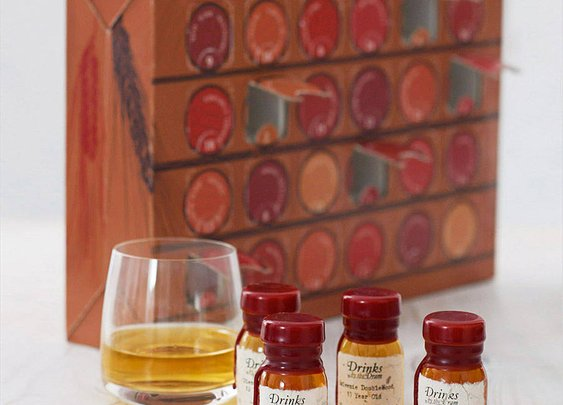 whisky advent calendar by master of malt