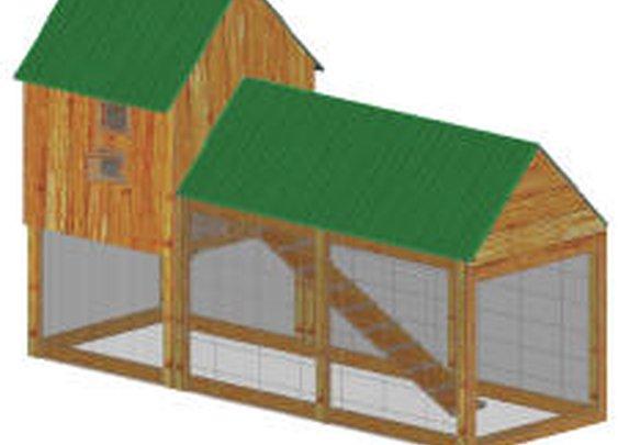 Build A Chicken Coop | Plans Download