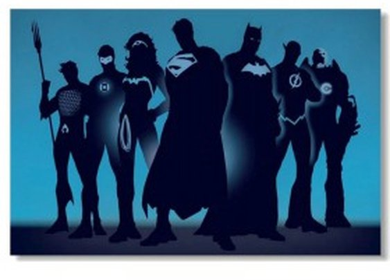 Justice League Superhero Poster
