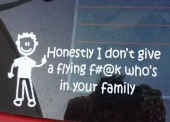 Stick It! The Top 10 Antisocial Stick Figure Family Decals