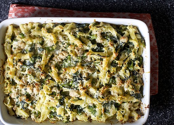 baked pasta with broccoli rabe and sausage | smitten kitchen