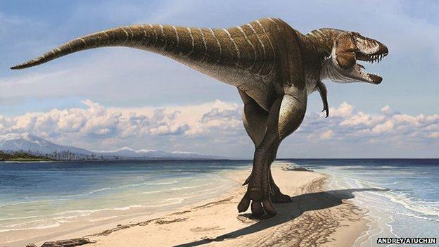 BBC News - Predatory 'king of gore' dinosaur discovered