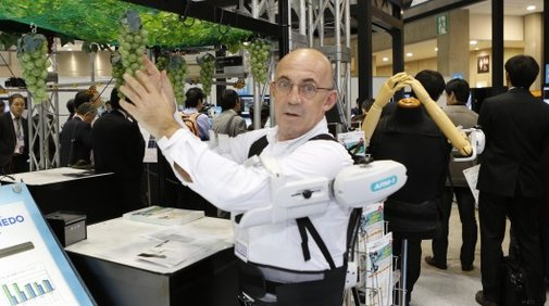Kubota developing exoskeletons for manual workers and fruit pickers