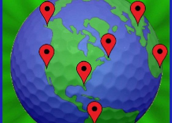 Create a Map of The Golf Courses You've Played with this Free Website