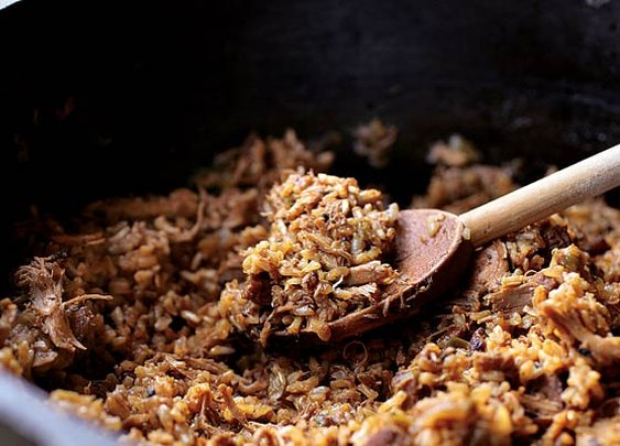 Chicken and Sausage Jambalaya Recipe | Leite's Culinaria
