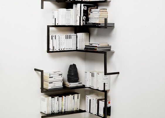 Build a Minimal Corner Book Shelf