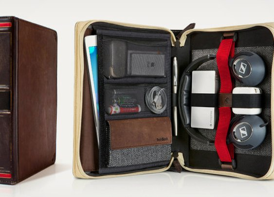 Travel Journal Leather Bound Case | Cool Material