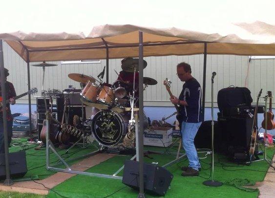 Weirdest Drum Kit Ever.