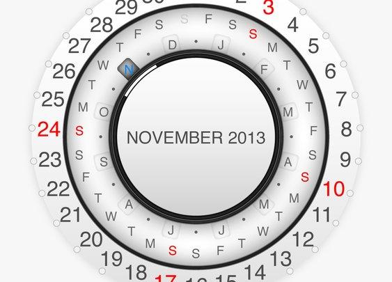 Printable Calendar 2013 November