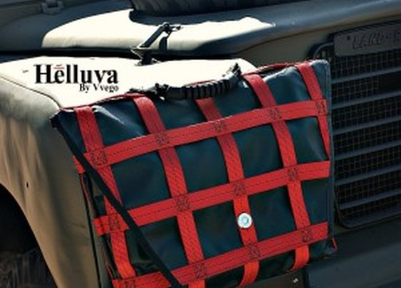 Helluva Messenger Bag Made In America