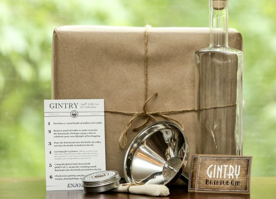 Gintry & Co.Handcrafted Gin Kit: Your New Hobby?