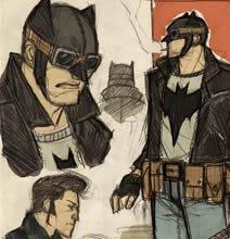 10 Rockabilly Batman Sketches: Batman Reimagined In The '50s