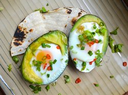 Eggs Baked in Avocado | Serious Eats : Recipes
