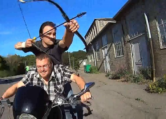 Danish Archer Lars Andersen Uses Ancient Techniques to Shoot Arrows Faster Than Anyone