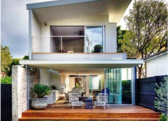 Minimalist Contemporary Bungalow Architecture