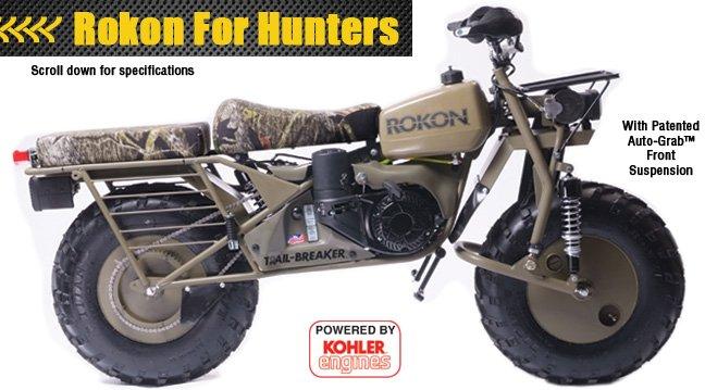 rokon 2-wheel drive motorcycles | gentlemint