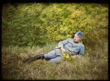 Rare Color Photographs from the Trenches of World War I
