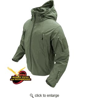 Condor Tactical Jacket - Olive Drab Soft Shell