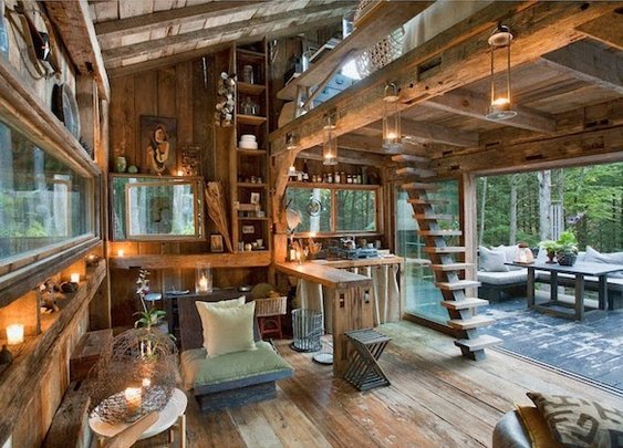 TINY NEW YORK CABIN IN THE WOODS