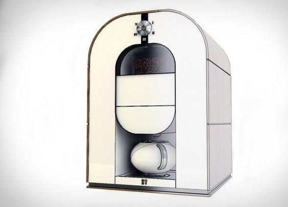 Bonaverde Roast-Grind-Brew Coffee Machine | Uncrate