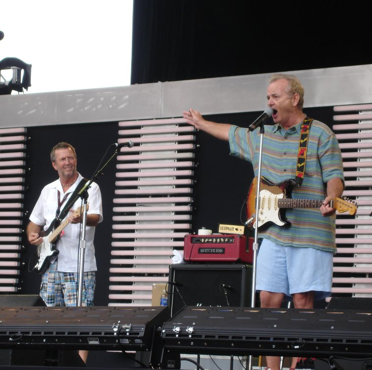 Eric Clapton and Bill Murray