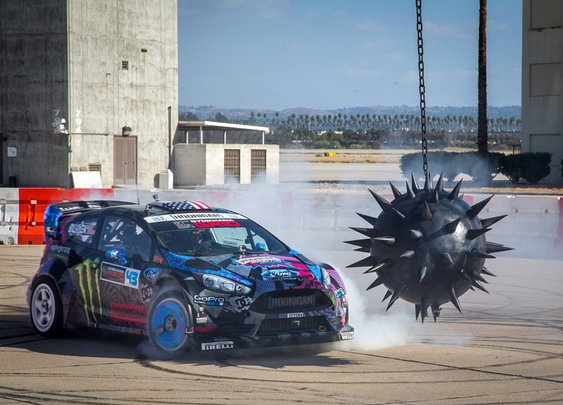 Ken Block's Gymkhana Six | The Coolector