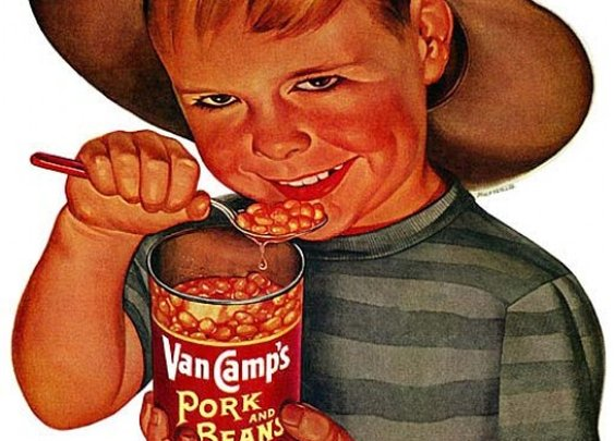11 Terrifying Kids From Vintage Ads