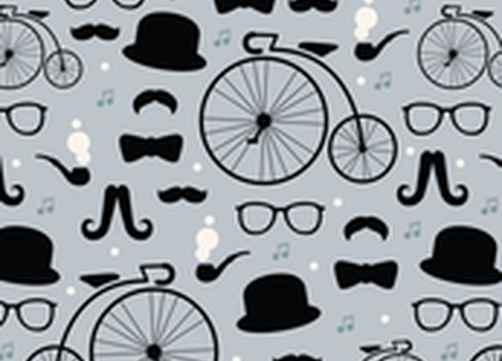 Spoonflower: Guy Gift Wrap