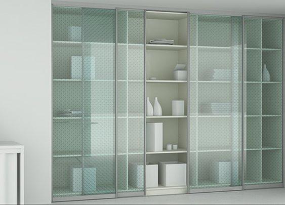 Kleiderschrank Glastüren nach Maß - Manufaktur Carl