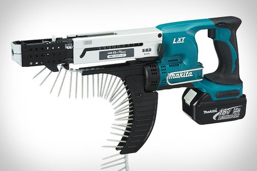 Makita LXT Cordless Autofeed Screwdriver | Uncrate