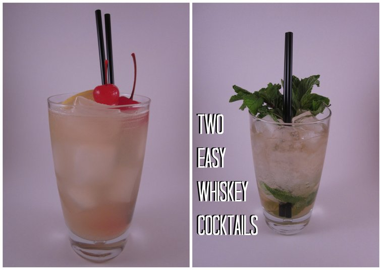 » Two Easy Whiskey Cocktails