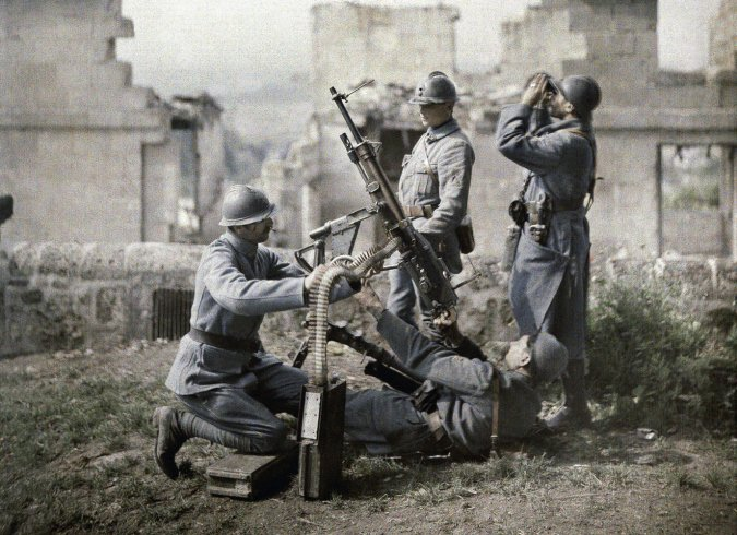 WWI in Colour   The Coolector
