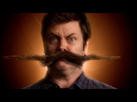 Nick Offerman's Stachedance -- Movember 2013 - YouTube
