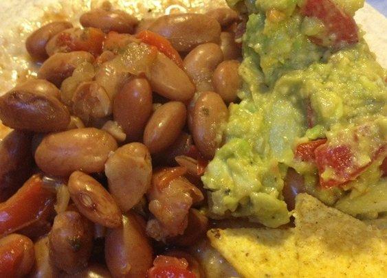 Famous Drunken Pinto Beans