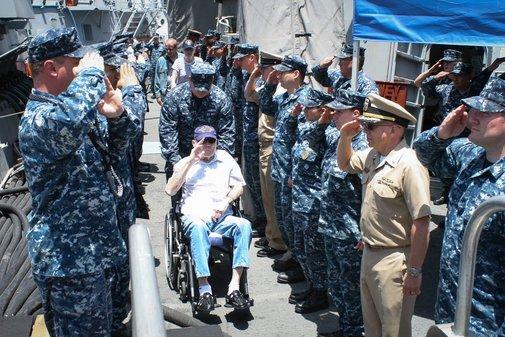 A Sailor's Dying Wish | iDriveWarships