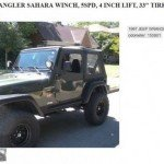 Check Out This Texas Man's Macho Craigslist Ad For His Jeep Wrangler