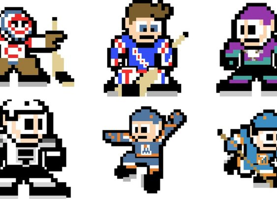 Every NHL Team As A Mega Man Sprite
