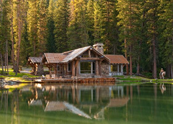 Headwaters Camp in Big Sky, Montana