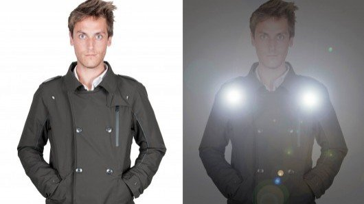 Urban style meets cycling function in the Eclaireur LED jacket