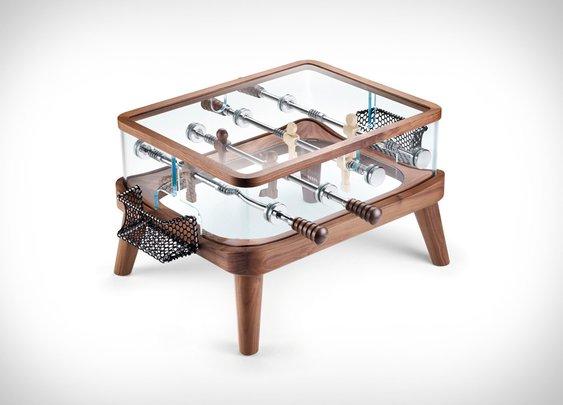 Teckell Intervallo Foosball Table | Uncrate