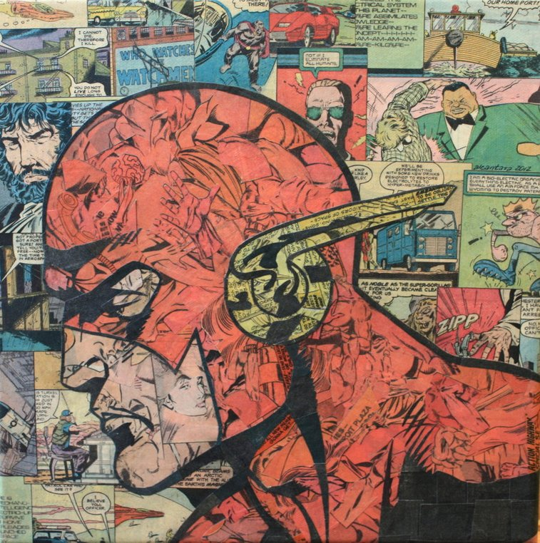 Comic Collage by Mike Alcantara   The Coolector