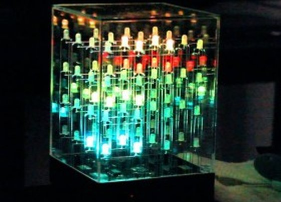 The Hypnotic Light Cube