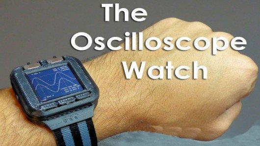 Summon the geek squad: An Oscilloscope Watch!
