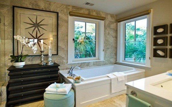 Beach Inspired Bathroom Designs and Decor