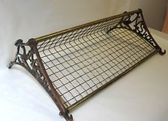 Vintage Industrial NSW Rail Luggage Rack | eBay
