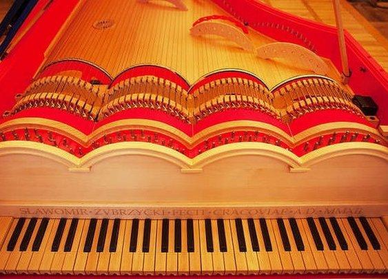 Leonardo Da Vinci's Piano
